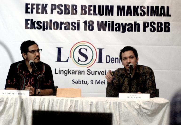 Lsi Denny Ja Efektivitas Psbb Di Dki Bogor Dan Bandung Barat Sudah Lumayan